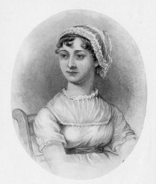 Portrait of Jane Austen (1775-1817)