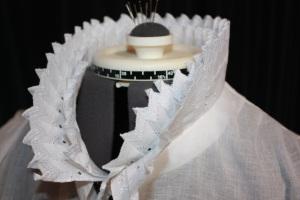 Collar frill detail