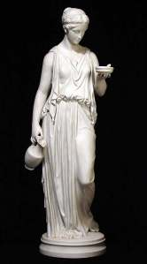 A typical Grecian statue
