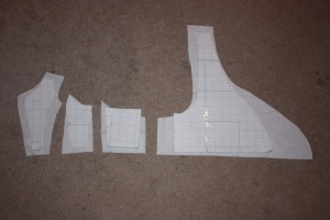 Bodice pieces