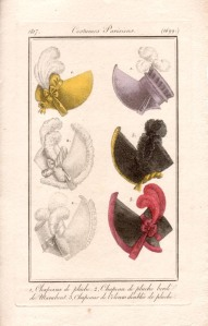 Costumes Parisiens, from Les Modes Dames (1817)