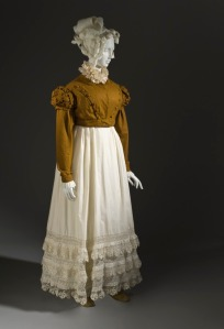 A Regency spencer (c. 18), from the Los Angeles County Museum of Art (LACMA).