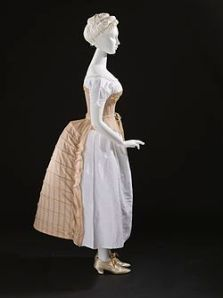 A bustle c. 1885 from the Los Angeles County Museum of Art (LACMA).