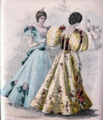 A fashion plate from 1896.