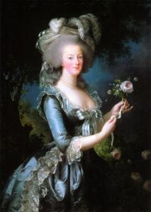 Marie Antoinette (1783), painted by Louise Élisabeth Vigée Le Brun.