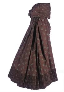 A Regency cloak, c. 1790's