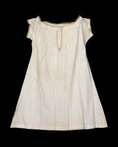 A mid-late 19th century chemise.