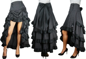 A steampunk skirt by Retroscope.