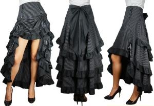A steampunk skirt by Retroscope.