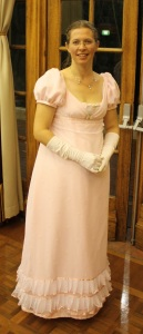 My 1813 gown