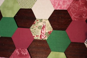 This is my attempt at paper-piecing, so far.