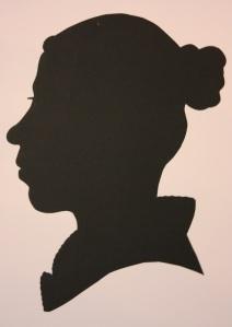 My Regency silhouette
