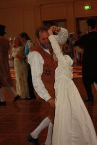 My daughter dancing the Lendler