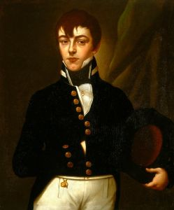 Midshipman Robert Deans (1790-1867), oil painting by the British School, 19th century