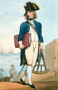A midshipman