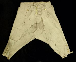 Breeches worn by Lord Nelson at Trafalgar (18..)