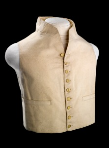 A British navy waistcoat, after 1812.
