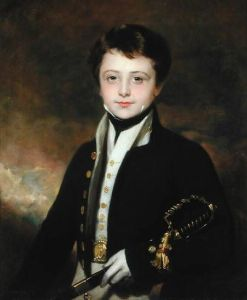 A Portrait of a Midshipman, by Sir Martin Archer Slee.