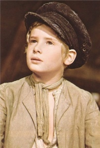 "Mark Lester as Oliver Twist in the movie, ""Oliver!"", in  1968."