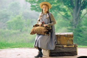 Anne Shirley (played by Megan Follows), in