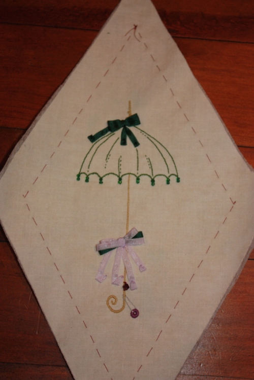 A lovely beaded parasol