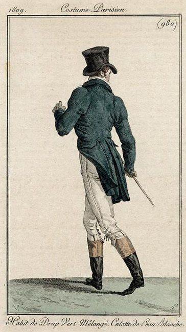 Costume Paresian, 1809.
