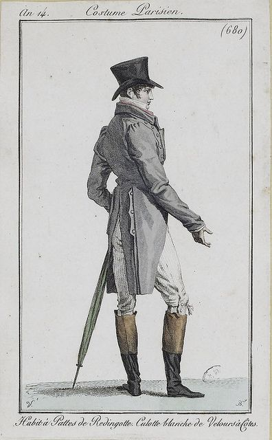 Costume Parisien, 1806.