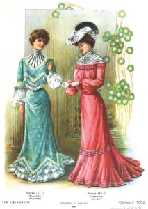 Fashions in The Delineator, 1902