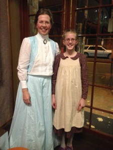 Myself and my daughter at our recent outing to see the new Anne of Green Gables movie.