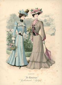 Walking Dress, 1901, from De Gracious, Netherlands.