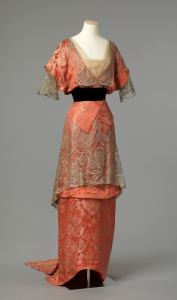 Evening gown, c. 1913-1914, from Na