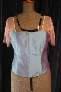 The front of bodice