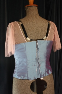 The back of bodice