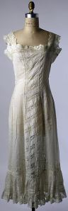 An Edwardian petticoat, c. 1910-1915, from